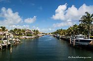 Harbor in Key Largo, Florida, USA