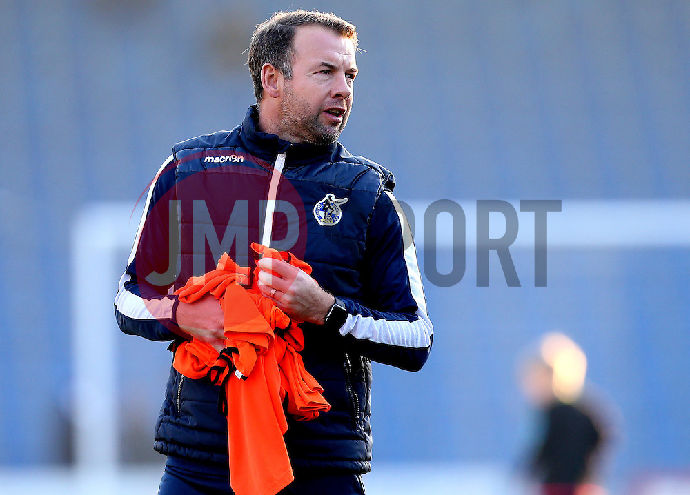 Bristol Rovers assistant manager Marcus Stewart - Mandatory by-line: Robbie Stephenson/JMP - 26/11/2016 - FOOTBALL - The Proact Stadium - Chesterfield, England - Chesterfield v Bristol Rovers - Sky Bet League One