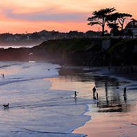 Its Beach in Santa Cruz, California<br /> Photograph by Shmuel Thaler/Santa Cruz Sentinel
