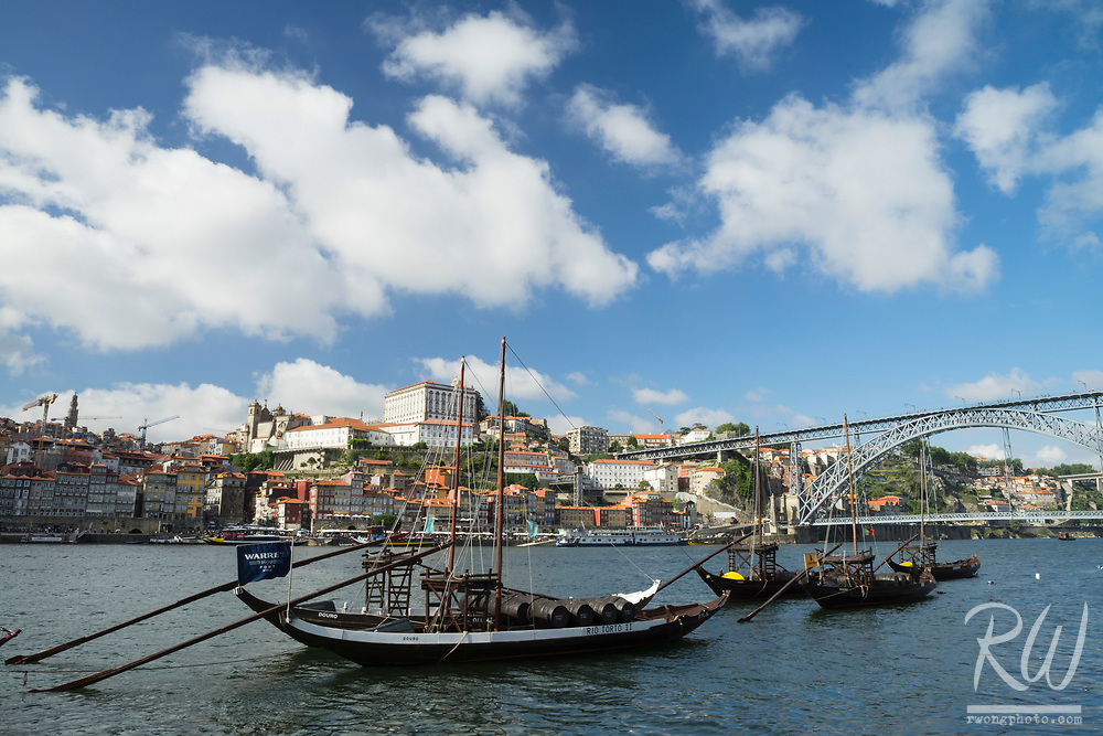 Port Wine Boats, Vila Nova de Gaia, Portugal