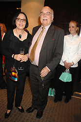 LORD & LADY TANLAW at an evening of private shopping in aid of Elizabeth Fitzroy Support at Tiffany & Co, 145 Sloane Street, London on 14th May 2008.<br /><br />NON EXCLUSIVE - WORLD RIGHTS