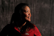 Scooby Liu during  portrait session prior to the second stage of LPGA Qualifying School at the Plantation Golf and Country Club on Oct. 6, 2013 in Vience, Florida. <br /> <br /> <br /> ©2013 Scott A. Miller