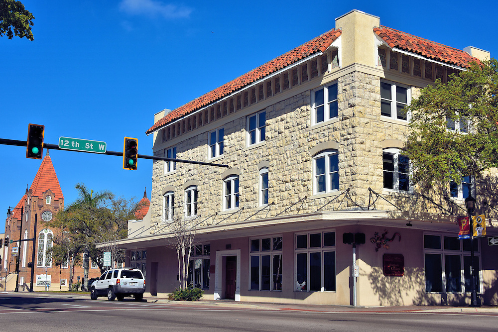 Fullerton Building in Historic Downtown Bradenton, Florida <br />