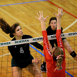 10-06-2015 Newman vs Sacred Heart (Volleyball)