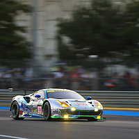 #60, Clearwater Racing, Ferrari 488 GTE, driven by: Richard Wee, Hiroki Katoh, Alvaro Parente, 24 Heures Du Mans 85th Edition, 17/06/2017,