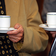 Bijeenkomst Samen op Weg, lezing multiculturele samenleving, koffie, vergadering