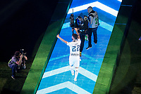 Real Madrid's player Isco during the celebration of the victory of the Real Madrid Champions League at Santiago Bernabeu in Madrid. May 29. 2016. (ALTERPHOTOS/Borja B.Hojas)