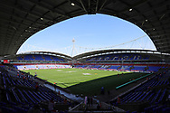 General view of the Macron Stadium Stadium, prior to the Ladbrokes Challenge Cup Semi Final match between St Helens and the Catalans Dragons, Bolton.<br /> <br /> Picture by Michael Sedgwick/Focus Images Ltd +44 7900 363072<br /> <br /> 05/08/2018