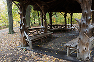 Rustic Shelter C75 in the Ramble of Central Park