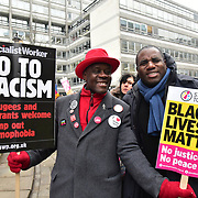 March Against Racism on UN Anti Racism Day, London, UK