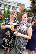 NANCY ALLSOP; REBECCA WILLIAMS, Archant Summer party. Kensington Roof Gardens. London. 7 July 2010. -DO NOT ARCHIVE-© Copyright Photograph by Dafydd Jones. 248 Clapham Rd. London SW9 0PZ. Tel 0207 820 0771. www.dafjones.com.