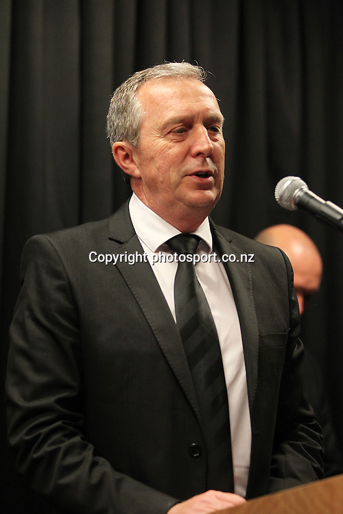 NZRL CEO Jim Doyle at the 2012 New Zealand Rugby League Awards at Westpac House, Britomart, Auckland Wednesday, November 7