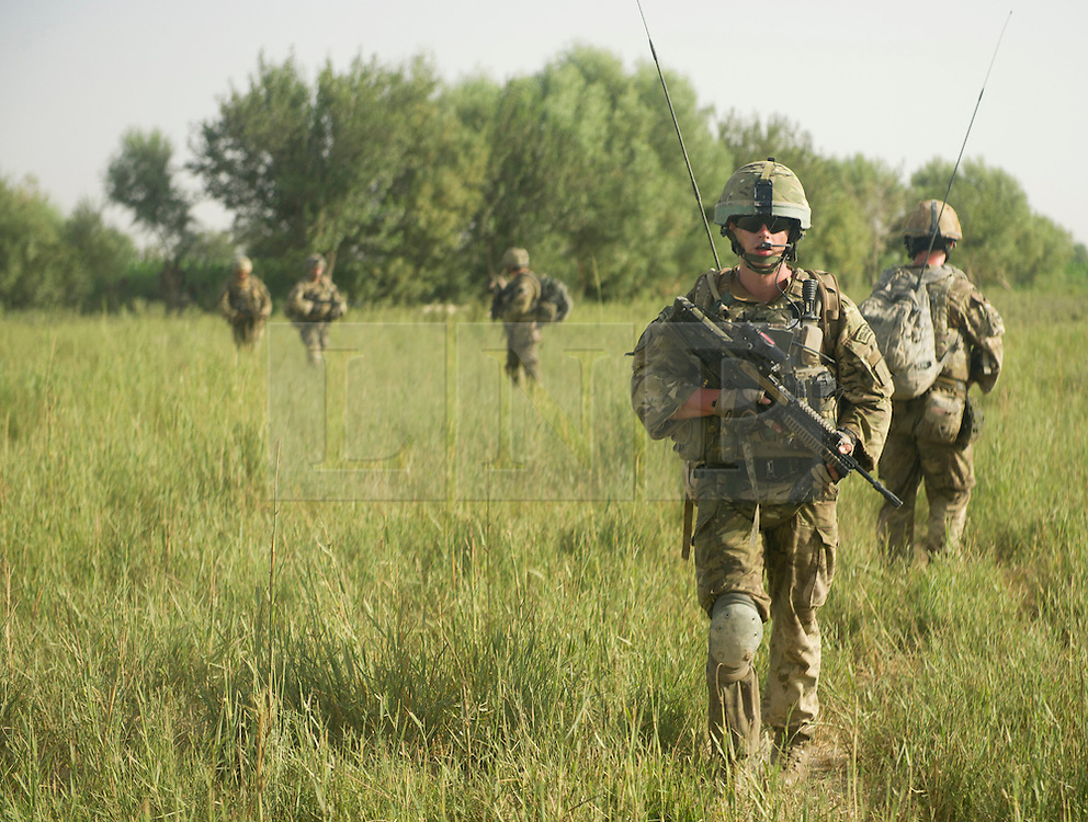 © Licensed to London News Pictures. 05/07/12. FILE PICTURE The Army is to lose 17 major units in the biggest overhaul of the service for decades it was announced today.  Photo credit Sergeant Alison Baskerville/LNP