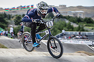 Men Elite #69 (GODET Damien) FRA the 2018 UCI BMX World Championships in Baku, Azerbaijan.