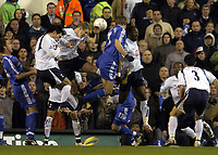 Photo: Olly Greenwood.<br />Tottenham Hotspur v Chelsea. The FA Cup, Quarter Final replay. 19/03/2007. Chelsea's Andriy Schevchenko goes close