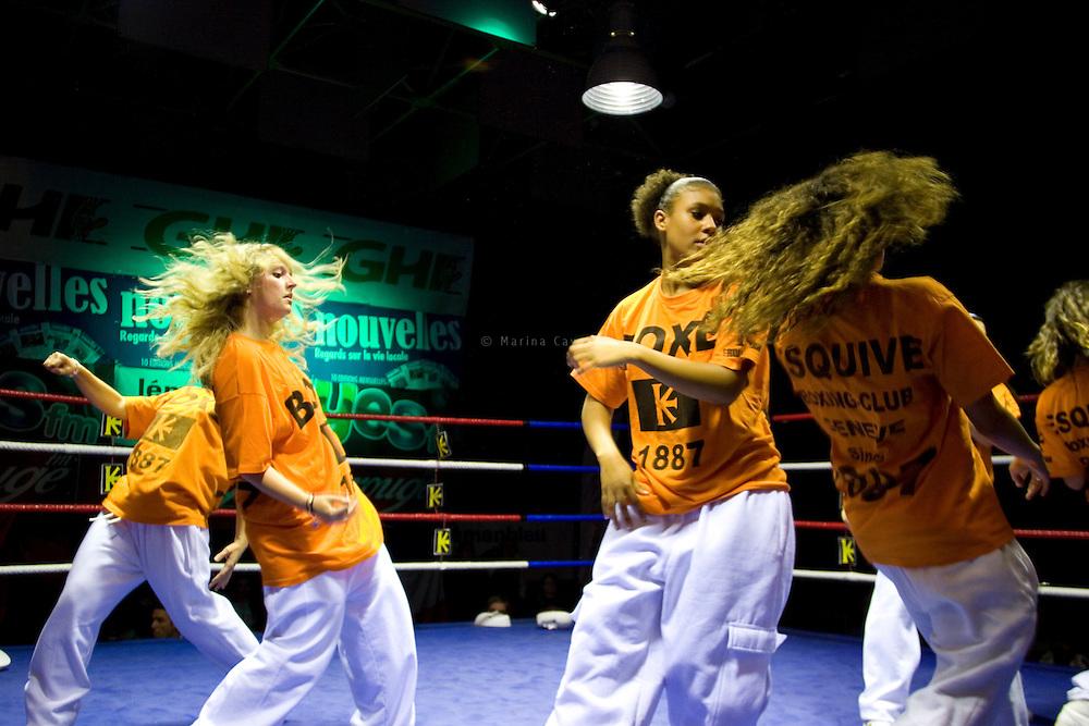 10 combats le 9 octobre 2010 au Palladium de Gen&egrave;ve<br /> Boxeurs de Esquive boxing Club de Gen&egrave;ve, Boxing Club (GE) Jonction, Boxing Club de Nyon, Boxing Club d'Octhodure, Swissboxingteam, Boxing Club de Nancy. Cat&eacute;gorie L&eacute;ger (60 kg), Mi-Welter (64 kg), Welter (69 kg), Moyen (75 kg), Poids-Lourds (91 kg)