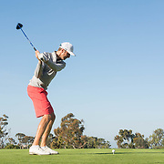 15 March 2016: The San Diego State Aztecs men's golf team participated in the 8th annual Lamkin San Diego Classic held at the San Diego Country Club in Chula Vista, Ca.