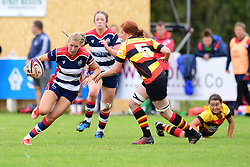 Charlotte Holland of Bristol Ladies in action - Mandatory by-line: Craig Thomas/JMP - 17/09/2017 - Rugby - Cleve Rugby Ground  - Bristol, England - Bristol Ladies  v Richmond Ladies - Women's Premier 15s
