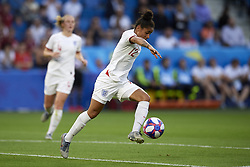 June 27, 2019 - Le Havre, France - Demi Stokes (Manchester City WFC) of England controls the ball during the 2019 FIFA Women's World Cup France Quarter Final match between Norway and England at  on June 27, 2019 in Le Havre, France. (Credit Image: © Jose Breton/NurPhoto via ZUMA Press)