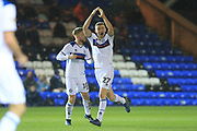 GOAL Ethan Hamilton celebrates scoring on his debut - Manchester United during the EFL Sky Bet League 1 match between Peterborough United and Rochdale at London Road, Peterborough, England on 12 January 2019.
