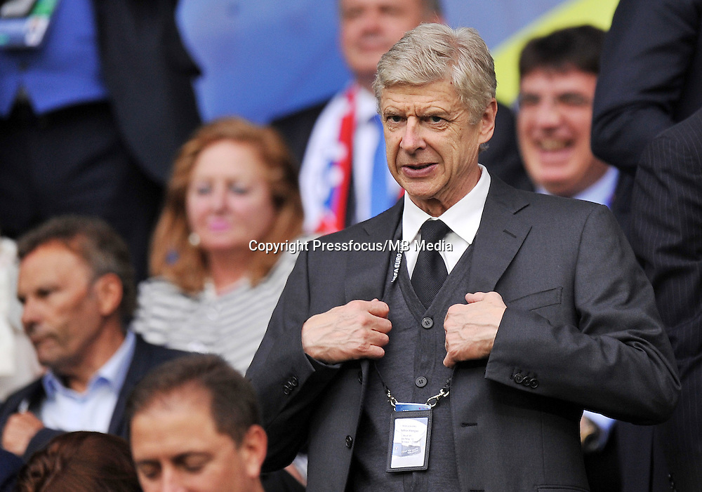 2016.06.20 Saint Etienne<br /> Pilka nozna Euro 2016<br /> mecz grupy B Slowacja - Anglia<br /> N/z Arsene Wenger<br /> Arsene Wenger<br /> Foto Norbert Barczyk / PressFocus<br /> <br /> 2016.06.20 Saint Etienne<br /> Football UEFA Euro 2016 group B game between Slovakia and England<br /> Arsene Wenger<br /> Arsene Wenger<br /> Credit: Norbert Barczyk / PressFocus