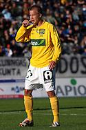 11.08.2008, Lahti, Finland..Veikkausliiga 2008 - Finnish League 2008.FC Lahti - Kuopion Palloseura.Antti Hynynen - KuPS.©Juha Tamminen.....ARK:k