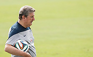 during the England training session at Est&aacute;dio Claudio Coutinho, Rio de Janeiro, Brazil<br /> Picture by Andrew Tobin/Focus Images Ltd +44 7710 761829<br /> 21/06/2014
