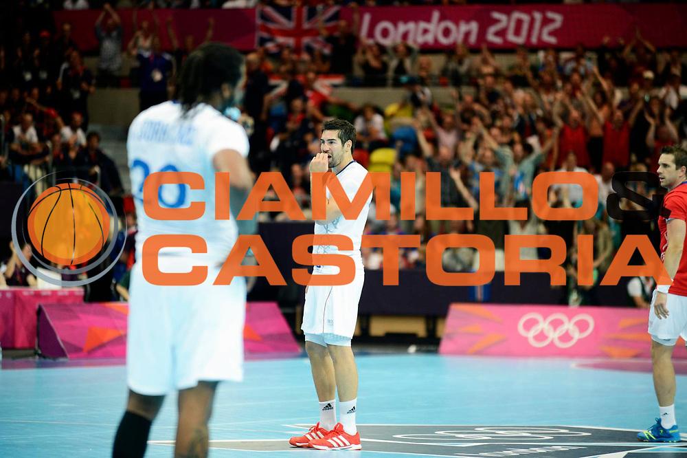 DESCRIZIONE : France Handball Jeux Olympiques Londres GIOCATORE : Sorhaindo Cedric Karabatic Nikola FRA SQUADRA : France Homme DATA : 2012-08-06CATEGORIA : SPORT : HandBall AUTORE : AGENZIA CIAMILLO & CASTORIA/G.Ciamillo