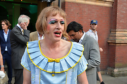 Grayson Perry at the V&A Summer Party 2017 held at the Victoria & Albert Museum, London England. 21 June 2017.<br /> Photo by Dominic O'Neill/SilverHub 0203 174 1069 sales@silverhubmedia.com
