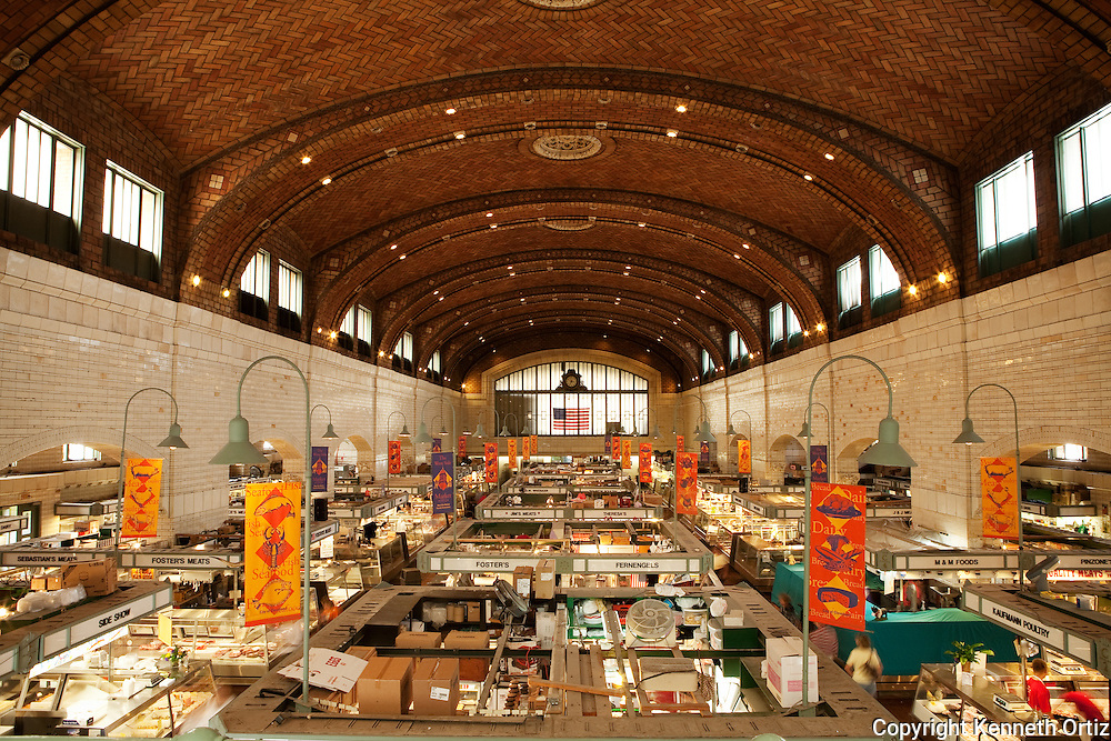 A food market in Cleveland Ohio.