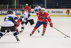 22.04.2016, Dom Sportova, Zagreb, CRO, IIHF WM, Kroatien vs Estland, Division I, Gruppe B, im Bild JARCOV Luka. // during the 2016 IIHF Ice Hockey World Championship, Division I, Group B, match between Croatia and Estonia at the Dom Sportova in Zagreb, Croatia on 2016/04/22. EXPA Pictures © 2016, PhotoCredit: EXPA/ Pixsell/ Dalibor Urukalovic<br /> <br /> *****ATTENTION - for AUT, SLO, SUI, SWE, ITA, FRA only*****
