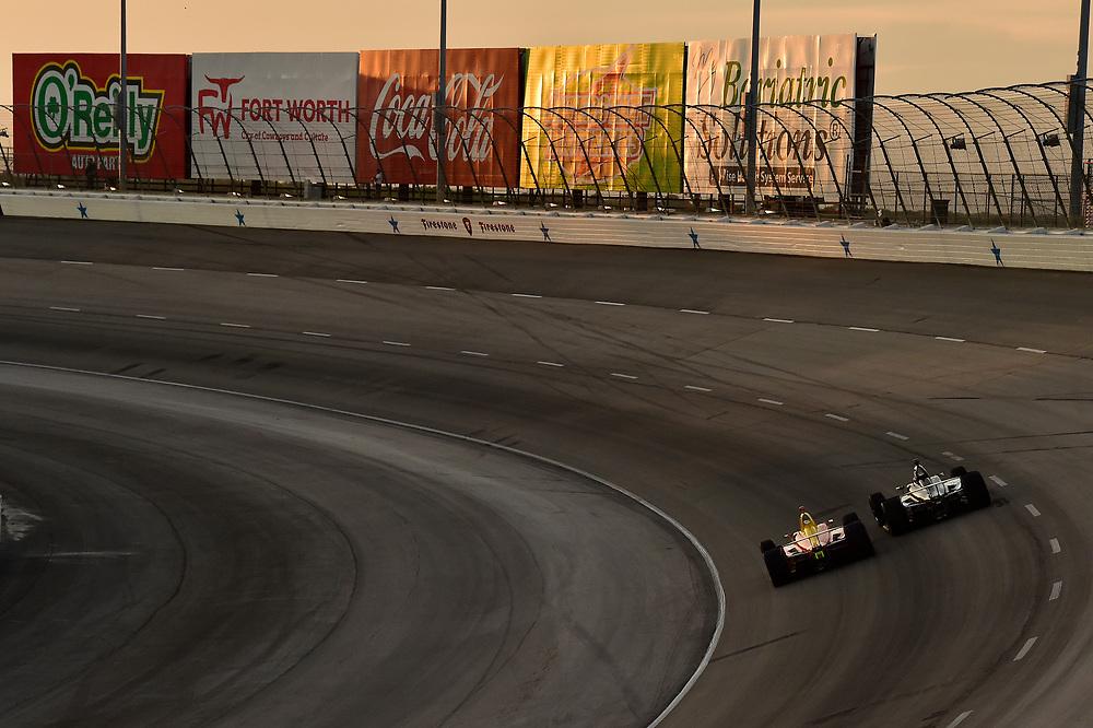 Zach Veach, Andretti Autosport Honda, Graham Rahal, Rahal Letterman Lanigan Racing Honda