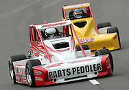 05 MAY 2007: Ryan Moore (41) of Jim Paternoster Racing drives around turn one in the Silver Crown race at the Casey's General Stores USAC Triple Crown at the Iowa Speedway in Newton, Iowa on May 5, 2007.