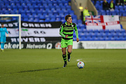 Forest Green Rovers Charlie Cooper(20) runs forward during the Vanarama National League match between Tranmere Rovers and Forest Green Rovers at Prenton Park, Birkenhead, England on 11 April 2017. Photo by Shane Healey.