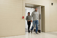 DALLAS, TX - MARCH 13:  Alistair Overeem walks to the scale during the UFC 185 weigh-ins at the Kay Bailey Hutchison Convention Center on March 13, 2015 in Dallas, Texas. (Photo by Cooper Neill/Zuffa LLC/Zuffa LLC via Getty Images) *** Local Caption *** Alistair Overeem