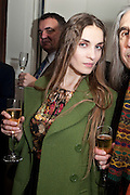 VANESSA DE LA ROCHE, Do Not Abandon Me - private view od wok by Tracey Emin alongside that of Louise Bourgeois. <br /> Hauser & Wirth London, 15 Old Bond Street, London, 17 February 2011. -DO NOT ARCHIVE-© Copyright Photograph by Dafydd Jones. 248 Clapham Rd. London SW9 0PZ. Tel 0207 820 0771. www.dafjones.com.
