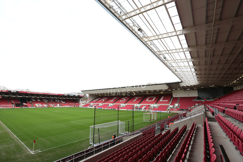 Ashton Gate during the Sky Bet Championship match between Bristol City and Charlton Athletic at Ashton Gate, Bristol, England on 26 December 2015. Photo by Jemma Phillips.