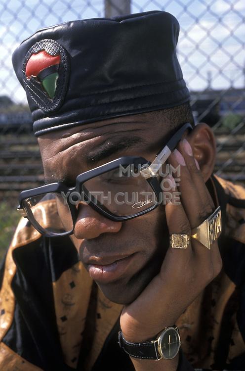 MC Duke, London, UK, 1980's
