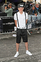 LONDON - JULY 18: George Sampson attended the European Film Premiere of 'The Dark Knight Rises' in Leicester Square, London, UK. July 18, 2012. (Photo by Richard Goldschmidt)