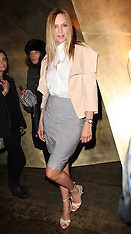 FEB 11 2013 Uma Thurman at Donna Karen  at New York Fashion Week A/W 13