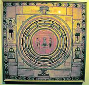 Jainism - Indian religion. Jain cosmos.
