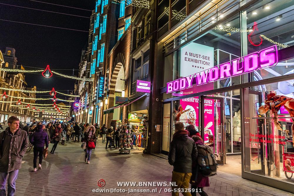 NLD/Amsterdam/20170119 - Body World expo op het Rokin in Amsterdam