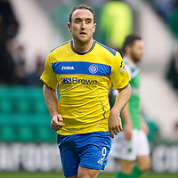 Hibs v St Johnstone...21.01.12<br /> Lee Croft<br /> Picture by Graeme Hart.<br /> Copyright Perthshire Picture Agency<br /> Tel: 01738 623350  Mobile: 07990 594431