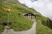 Bild von Berghotel und Alpkäserei Obersteinberg in hinteren Lauterbrunnental