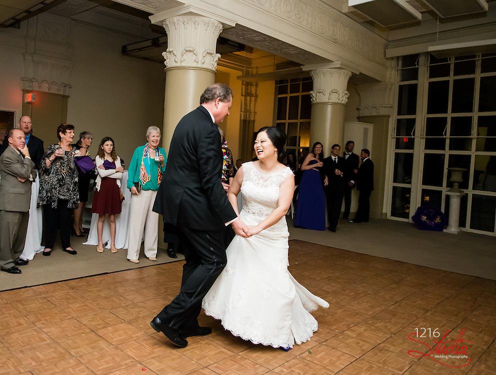 Erik & Sarah Wedding Album   The Roosevelt and Federal Ballroom   1216 Studio Wedding Photography