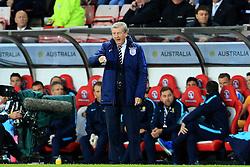 England Manager Roy Hodgson shouts - Mandatory by-line: Matt McNulty/JMP - 27/05/2016 - FOOTBALL - Stadium of Light - Sunderland, United Kingdom - England v Australia - International Friendly