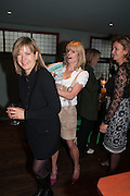 PENNY SMITH; RACHEL JOHNSON; CAROLINE MICHEL Party to celebrate the publication of 'Winter Games' by Rachel Johnson. the Draft House, Tower Bridge. London. 1 November 2012.