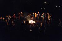 Mount St. Elias Band Performing for Backroads Guests at Thunderbird Ranch Campfire, Healdsburg, California