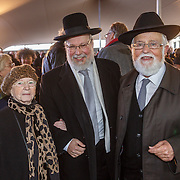 NLD/Amsterdam/20160515 - Nationaal Holocaust museum opent met schilderijen Jeroen Krabbé, Joodse geestelijken