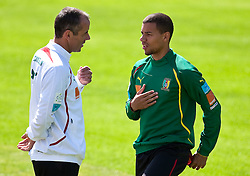 21.05.2010, Dolomitenstadion, Lienz, AUT, WM Vorbereitung, Kamerun Training im Bild Marcel Ndjeng, Mittelfeld, Nationalteam Kamerun (FC Augsburg), EXPA Pictures © 2010, PhotoCredit: EXPA/ J. Feichter / SPORTIDA PHOTO AGENCY
